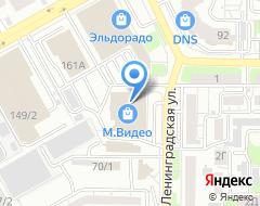 Компания Адвокат Ишакатова А.Е. на карте города