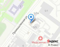 Компания ФИНЭКС на карте города