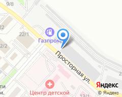 Компания АвтоПорт на карте города