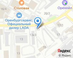Компания ШИНСЕРВИС на карте города