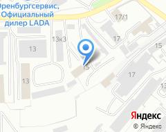 Компания М15 на карте города