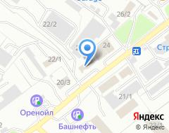 Компания ЮрЛайн на карте города