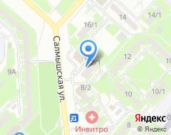 Компания Нотариус Лужнова М.В. на карте города