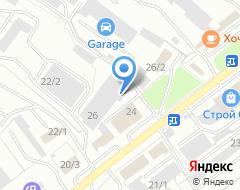 Компания Сплав+ на карте города