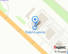 Компания Тойота на карте города