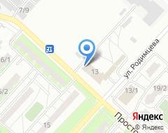 Компания Шиномонтажная мастерская на Просторной на карте города