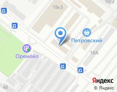 Компания Актан на карте города
