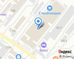 Компания Европлан на карте города