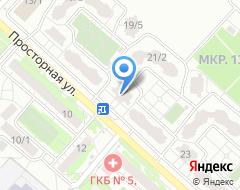 Компания Геопрогрессия на карте города