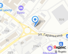 Компания Tyre Plus на карте города