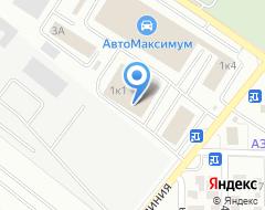 Компания Алекс-шина на карте города