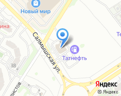 Компания АЗС Ростанефть на карте города