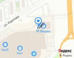 Компания Каркаде на карте города