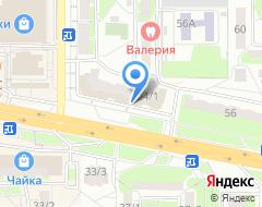 Компания Оренбург на карте города