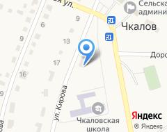 Компания Чкалов-Сервис, МП на карте города
