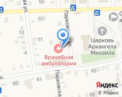 Компания Врачебная амбулатория на карте города