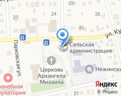 Компания Нежинка на карте города