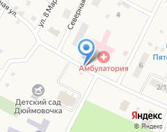 Компания Продуктовый магазин на Клубной, 13 на карте города