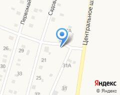 Компания Придорожный, продуктовый магазин Дружинина А.В. на карте города