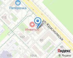 Компания Центр проката лыж и велосипедов на ул. Краснолесья на карте города