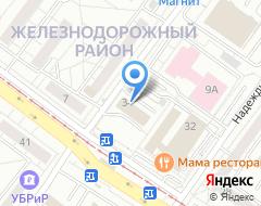 Компания AlfaPrint на карте города