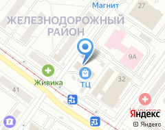 Компания Велес на карте города
