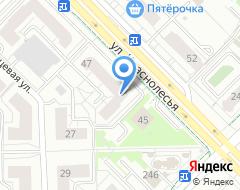 Компания Налоговый консультант бухгалтерская фирма на карте города