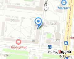 Компания Велокомфорт на карте города