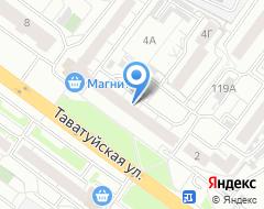 Компания Адвокат Григорьев Б.А на карте города