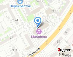 Компания Современная гуманитарная академия на карте города