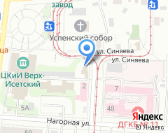 Компания Федерация армейского рукопашного боя Сведловской области на карте города