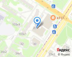 Компания Антей на карте города