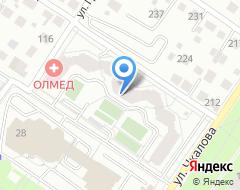 Компания СИБКТС на карте города