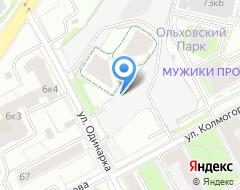 Компания Кокетка на карте города