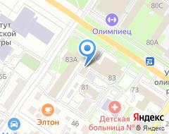 Компания Любимое Дело на карте города