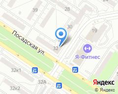 Компания Абикс на карте города