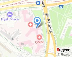 Компания НИИ ОММ на карте города