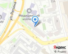 Компания Уралспортторгсервис на карте города