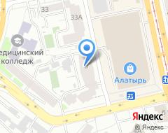 Компания СиДи-сервис на карте города