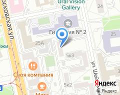 Компания Амарант-Тур на карте города