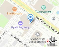 Компания Hyatt на карте города