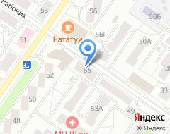 Компания Свердловская областная автошкола на карте города