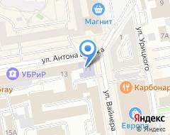Компания ЕГТИ на карте города
