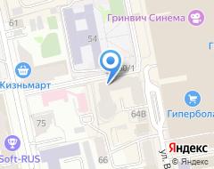 Компания НОМОС БАНК на карте города