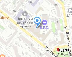 Компания Экстра Урал на карте города