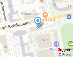 Компания Данс-Микс на карте города