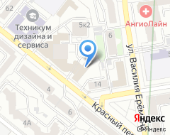 Компания Уралреклама на карте города