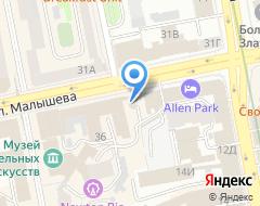 Компания Турклуб на карте города