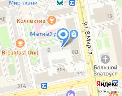 Компания Банк Вятич на карте города