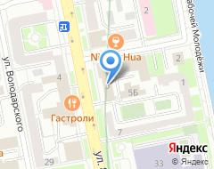 Компания УНИХИМ с ОЗ на карте города